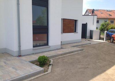 Terrassenbau durch den Fachbetrieb Gartenreich Patrick Schwab in Landau/Isar