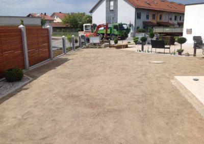 Gartengestaltung durch den Fachbetrieb Gartenreich Patrick Schwab in Landau/Isar aus einem anderen Blickwinkel