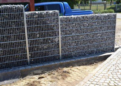 Gabionen erstellt durch die Firma Gartenreich Schwab in Landau