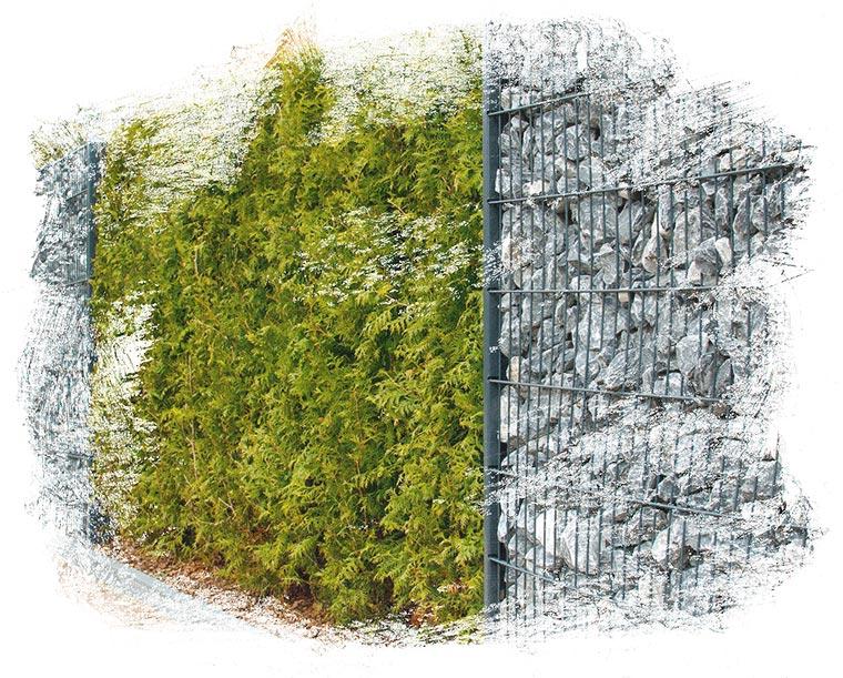 Der Fachbetrieb Gartenreich Patrick Schwab in Landau/Isar bietet professionellen Zaunbau an